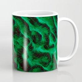 Fluoro Topography Coral Coffee Mug