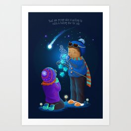 Catch a Falling Star - LIMITED EDITION Art Print