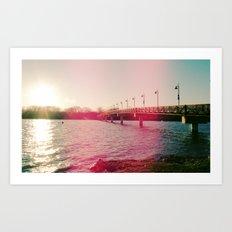 White Rock Lake! Art Print