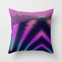taurus Throw Pillows featuring taurus by donphil
