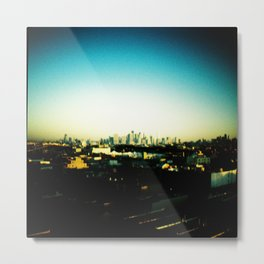 NYC Skyline from Brooklyn Metal Print