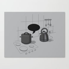What did you call me?! Canvas Print
