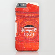 Red Mailbox iPhone 6s Slim Case