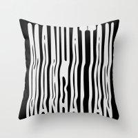 manhattan Throw Pillows featuring Manhattan by Hoods