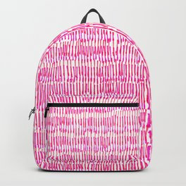 Sea of pink - a handmade pattern Backpack