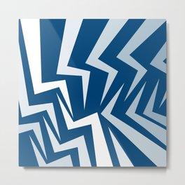 Fangs Series - Blue Metal Print