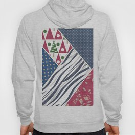 Abstract pattern .Textile patchwork patchwork . Hoody