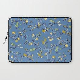 floral vines - blues Laptop Sleeve