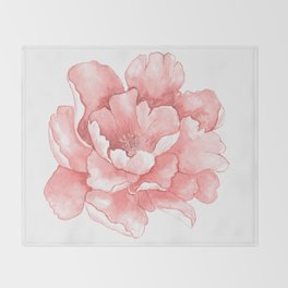 Beautiful Flower Art 21 Throw Blanket