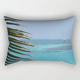 Left Palm Right Sail  Rectangular Pillow