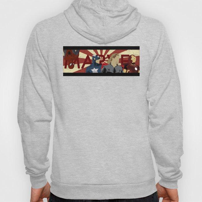 The Avengers forgot Spiderman Hoody