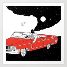 Passing Dream Art Print