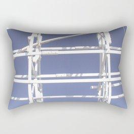 Wooden roller coaster Rectangular Pillow