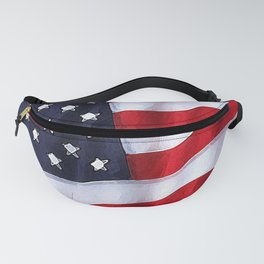 Fancy Flag:  USA 2 Fanny Pack