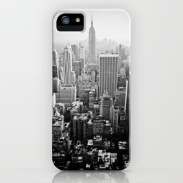 NYC From The Rock iPhone Case
