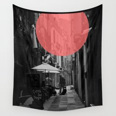 Venice Caffe del doge Wall Tapestry