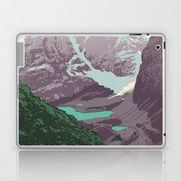 Yoho National Park Poster Laptop & iPad Skin