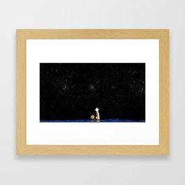 Calvin and Hobbes #3 Framed Art Print