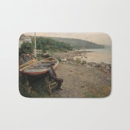 Hans Heyerdahl - View from Åsgårdstrand Bath Mat