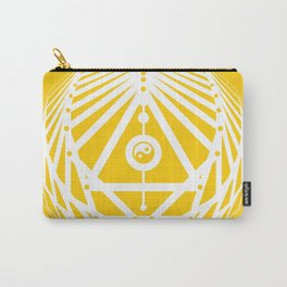 Radiant Abundance (yellow-white) Carry-All Pouch