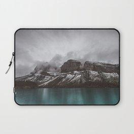 Landscape Maligne Lake Mountain View Photography | Alberta | Canada Laptop Sleeve