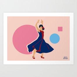 Lovely_Sophia Art Print