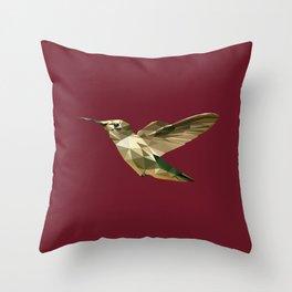 Geometric Colibri Throw Pillow