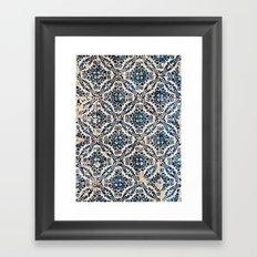 Azulejos - Portuguese painted tiles II Framed Art Print