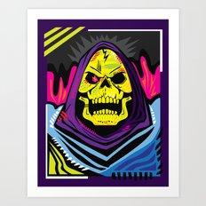xSKELETORx Art Print
