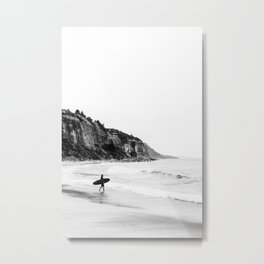 Surfer heads out II Metal Print