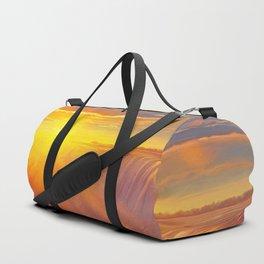 Sunlight waterfall Duffle Bag