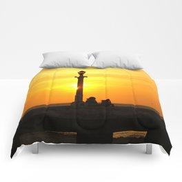 Romancing The Sunset 2 Comforters