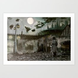 City of Yharnam Art Print