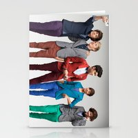 1d Stationery Cards featuring 1d by Max Jones