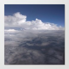 Sky full of clouds Canvas Print