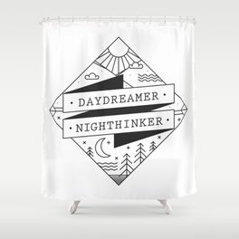 daydreamer nighthinker II Shower Curtain