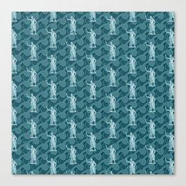 Poseidon OCEAN BREEZE / All hail the god of the sea Canvas Print