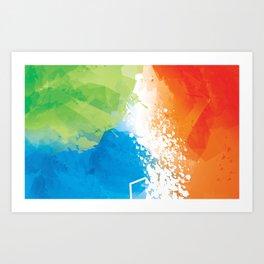 Abstract 11.3 Art Print