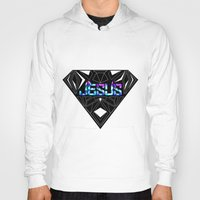 jesus Hoodies featuring JESUS by Naje Anthony Hart