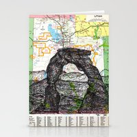 utah Stationery Cards featuring Utah by Ursula Rodgers