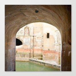 View into Roman Baths Canvas Print
