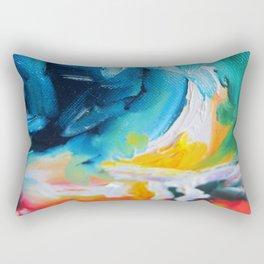 Oasis on Fire Rectangular Pillow