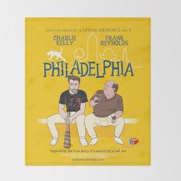 Philadelphia parody movie poster Throw Blanket