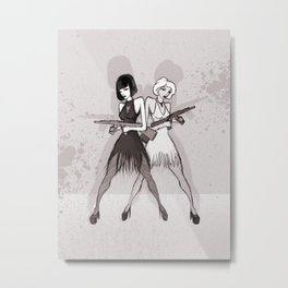 Velma and Roxie Metal Print