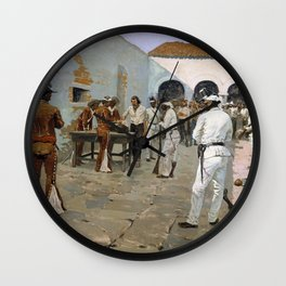 The Mier Expedition - Digital Remastered Edition Wall Clock