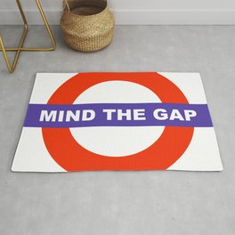 Mind The Gap Logo Rug
