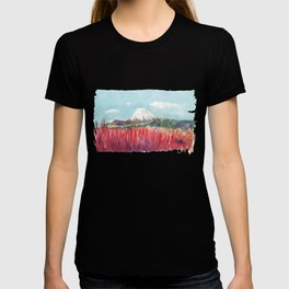 Ruapehu volcano , Tongariro National Park New Zealand T-shirt