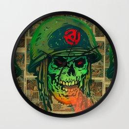 45 Death Soldier Wall Clock