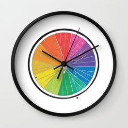 Color Wheel (Society6 Edition) Wall Clock