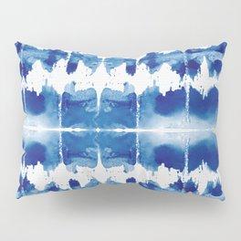 Shibori Tie Dye Indigo Blue Pillow Sham